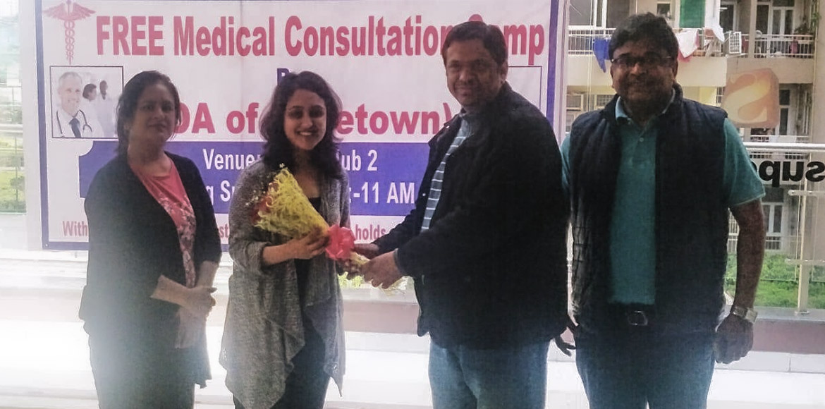 Supertech Capetown: Free medical check-up camp organised by AOA