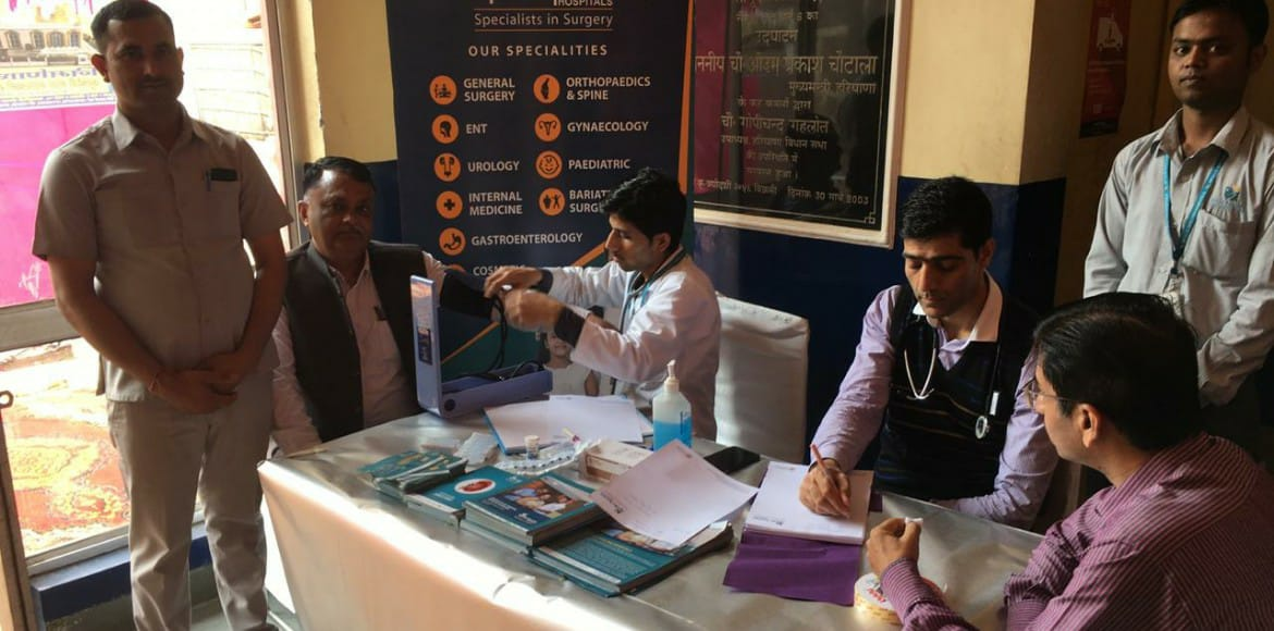 Gurugram: Free medical camp organised at Sector 5