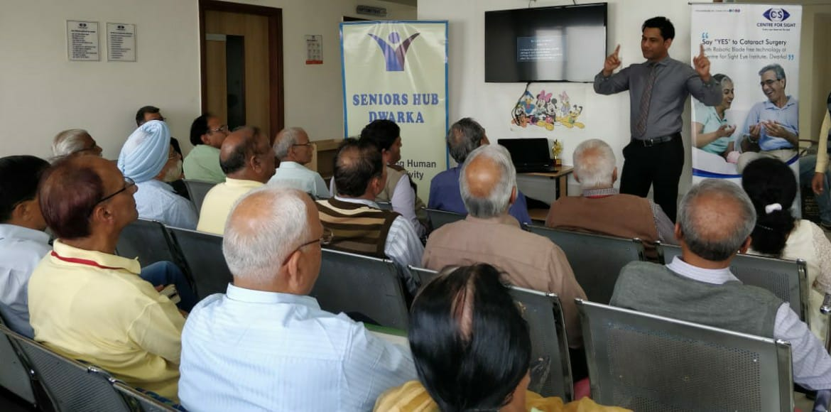 Talk on age related macular degeneration held at D