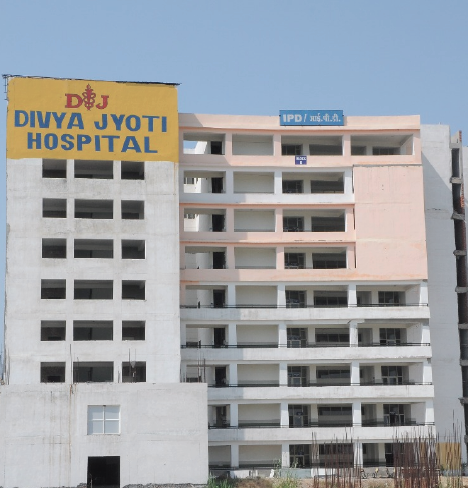 DIVYA JYOTI HOSPITAL IDENTIFIED AS LEVEL-1 COVID H