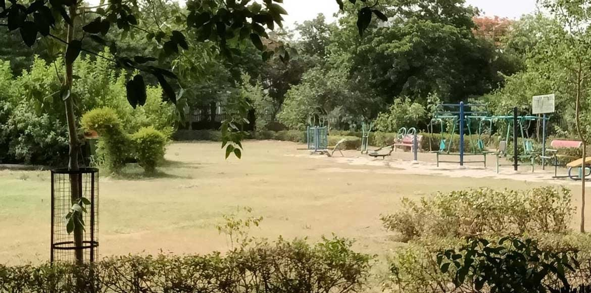 Dwarka: Sector 14 park becomes home for drug addic