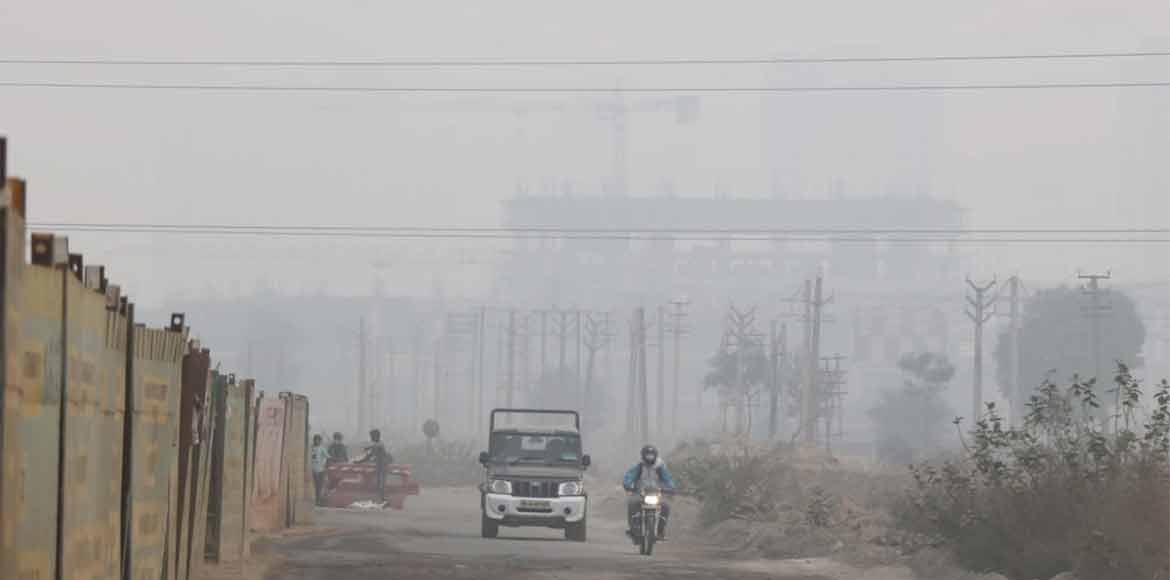 Gurugram: HSPCB installs two sensors to read pollution levels