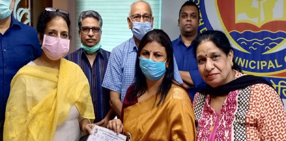Dwarka: Team of Federation CGHS meets newly electe