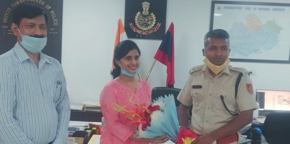 Daughter of Dwarka Police's ASI secures 6th posi