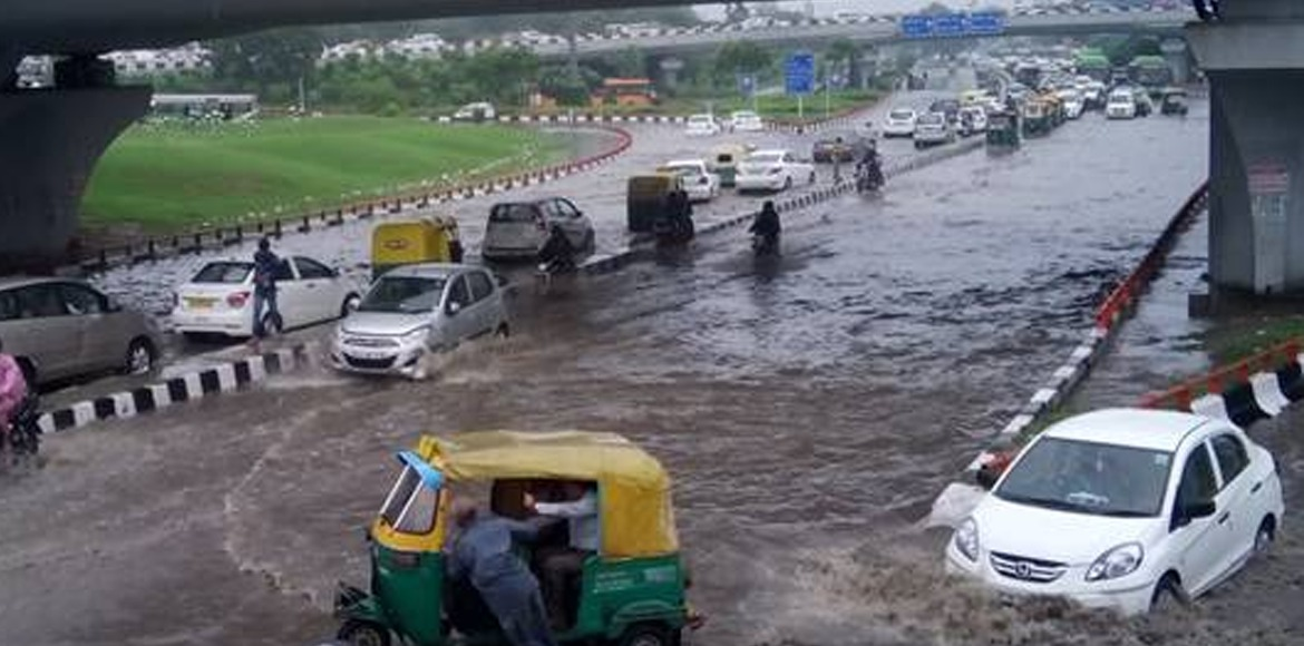 Delhi receives heaviest rain of monsoon season; water logging at many places