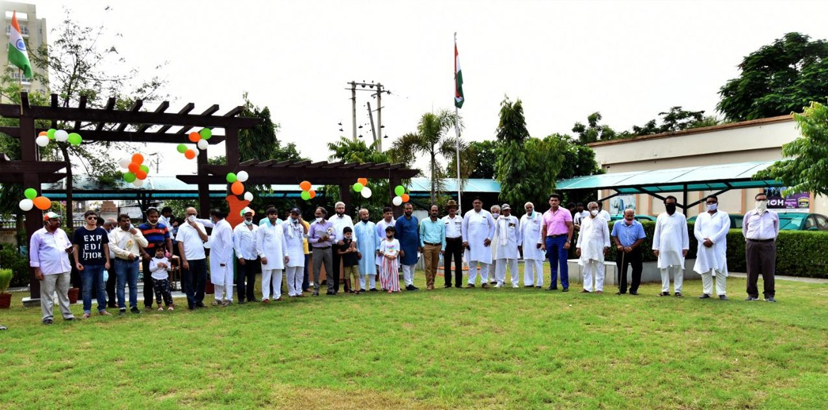 New Gurugram celebrates I-Day with patriotic fervo