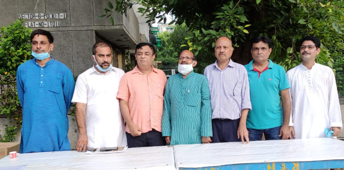 Dwarka: RWA team elected at Pocket 1 DDA flats in