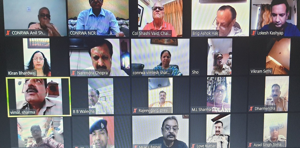 CONRWA holds virtual meeting with police to raise law and order issues