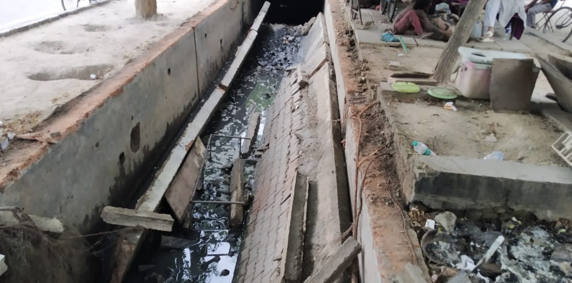 RESIDENT SPEAK: Caved in slab a death trap, authority should repair immediately