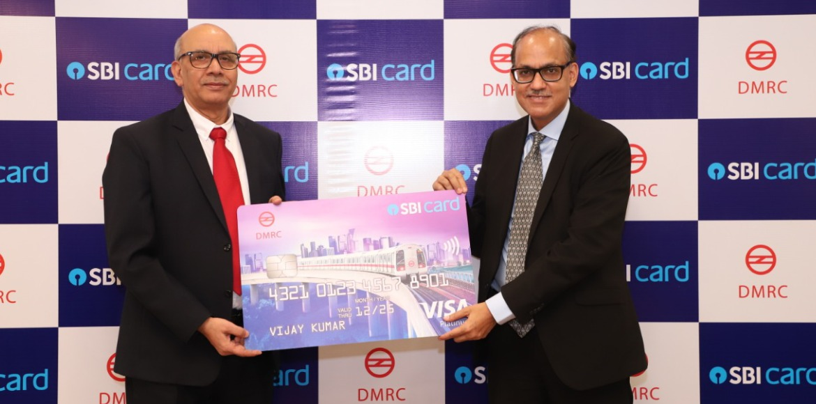 DMRC launches 'Delhi Metro-SBI Card' with auto