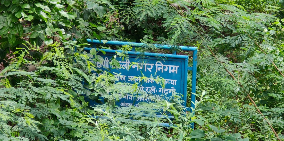 Dwarka: SDMC park in bad shape at Sec 4