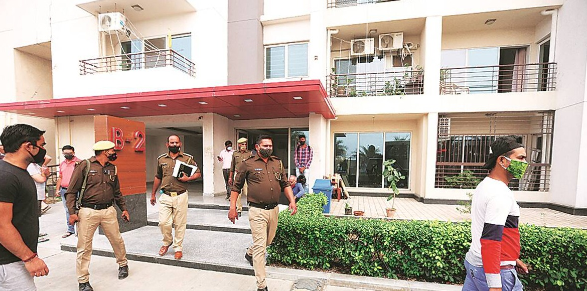 Greater Noida West: Couple found dead at flat in Cherry County