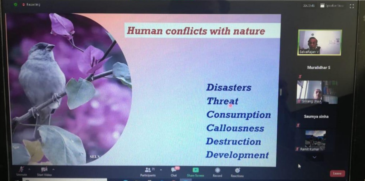 Dwarka: Webinar on Environmental Ethics organised at Apeejay campus