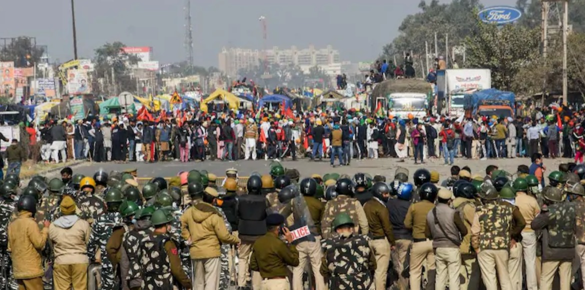 Delhi traffic police issues advisory in view of farmers' protest
