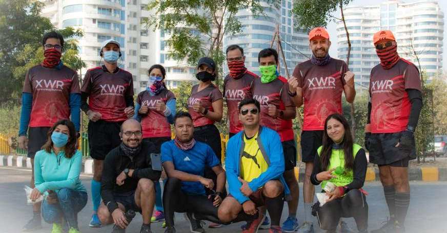 Annual Delhi Half Marathon held in Noida