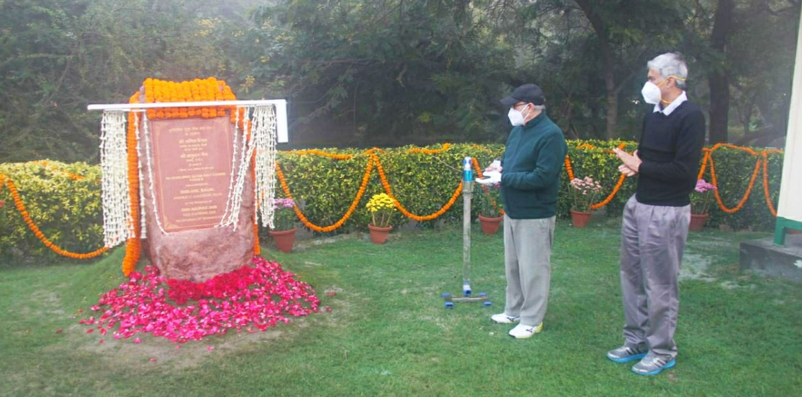 LG Anil Baijal inaugurates 9 holes at Qutab Golf Course