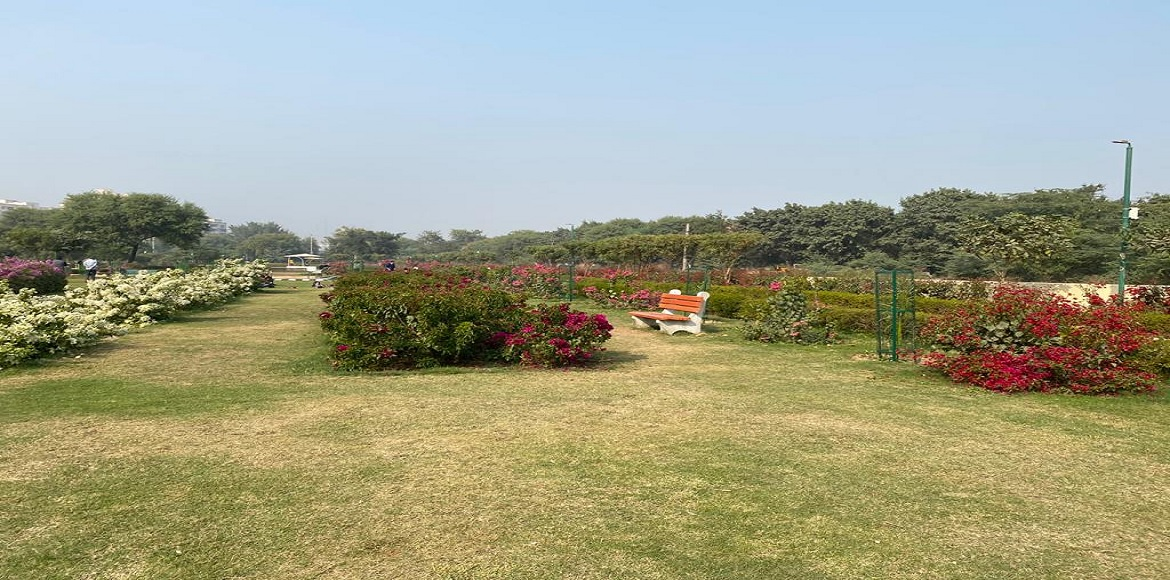 Dwarka: Residents elated to get exclusive Bougainvillea Garden