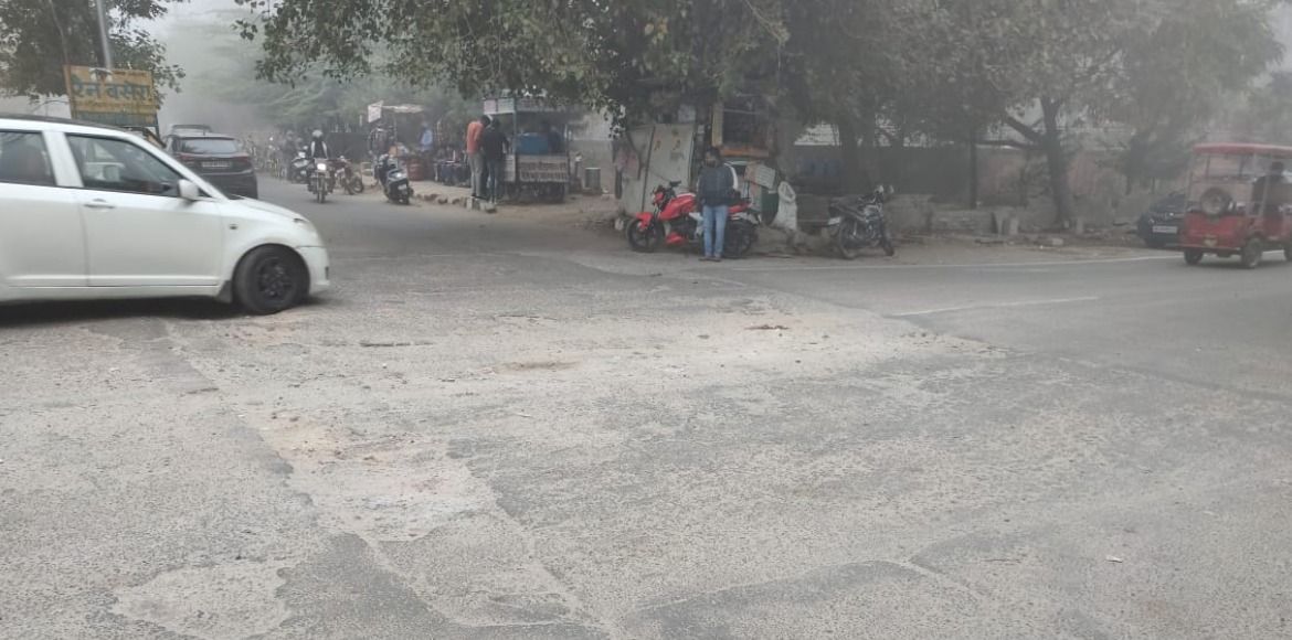 Dwarka: Neglected road goes from bad to worse with time at Sec 3