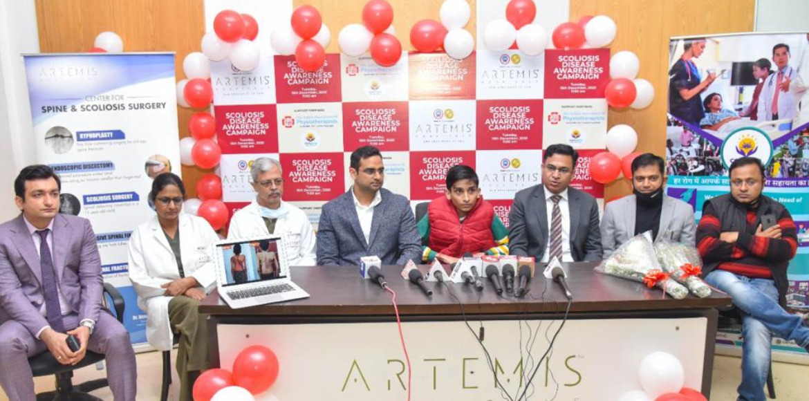 Artemis Hospital launches Scoliosis disease awareness campaign