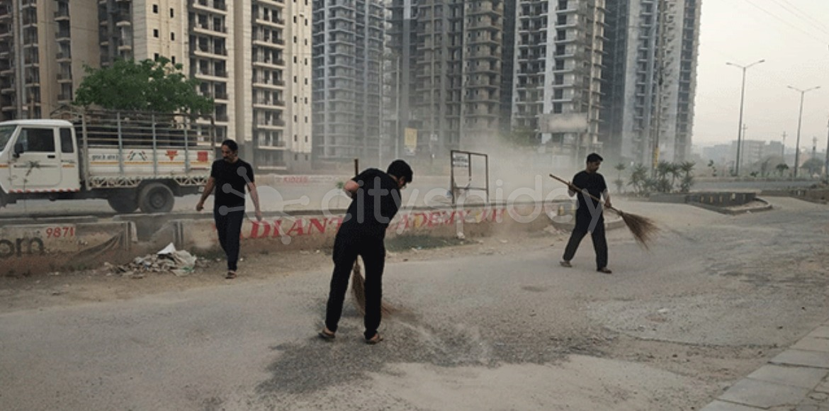 Residents plan massive cleanliness drive in Noida