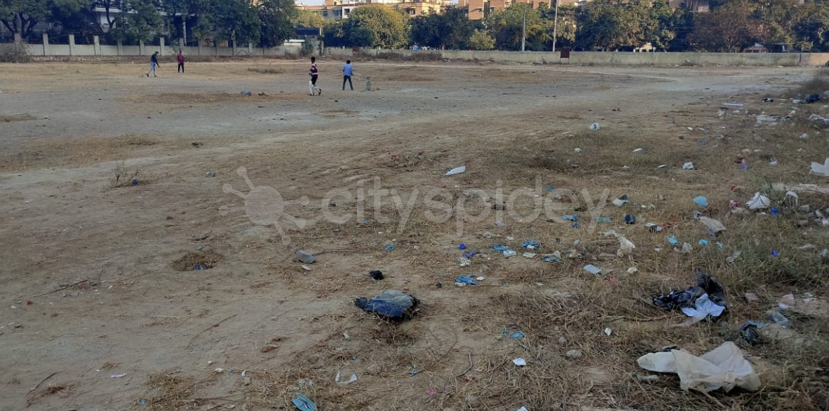 DDA's temporary play area in bad shape in Dwarka