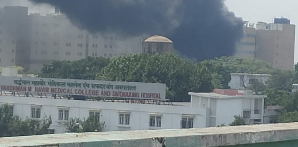 Fire breaks out at nursing home of Safdarjung Hospital; no casualty reported