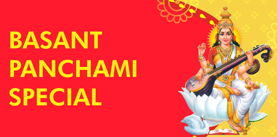 Gurus celebrate the Goddess of learning on Basant Panchami