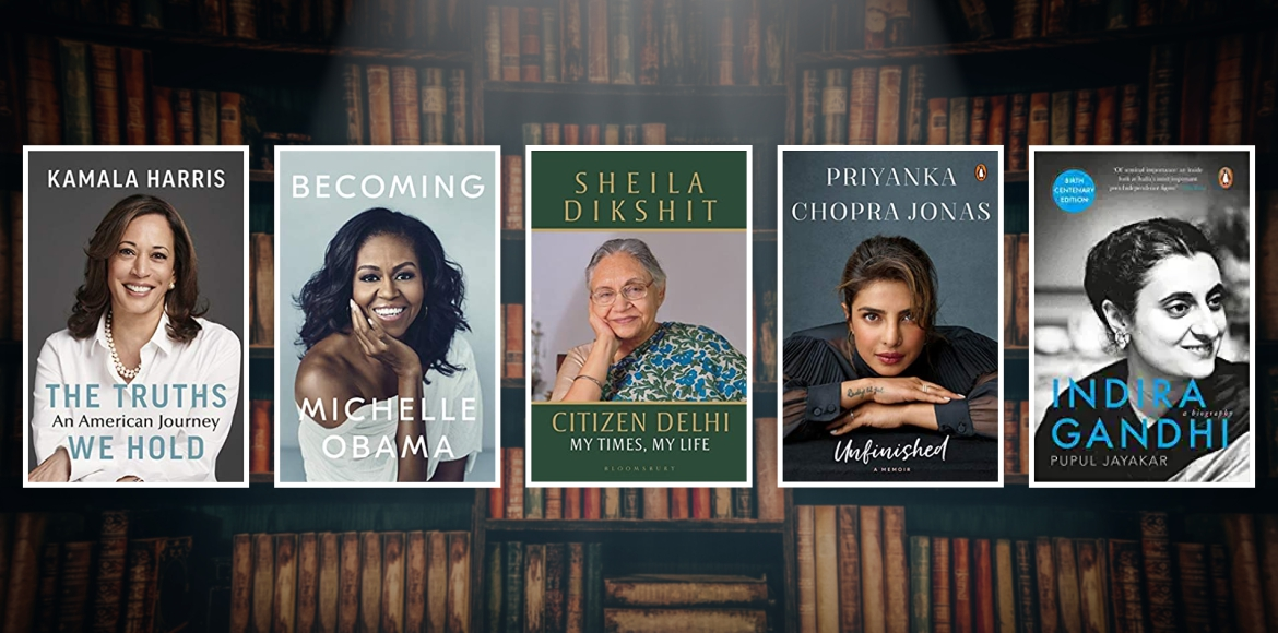 Five biographies signifying Women's Day theme #Cho