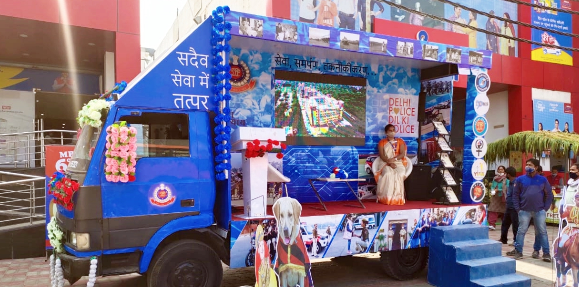 Delhi Police launches 'Jan Sampark Vahan' to boost relations with public