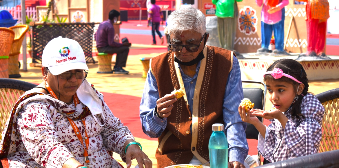 Have not been to Hunar Haat yet? Catch glimpses from the venue