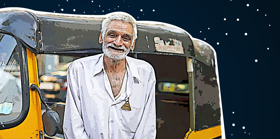Social media bails out 74-year-old auto driver from acute poverty