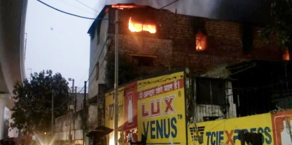 Delhi: One dead in major fire at factory in Pratap