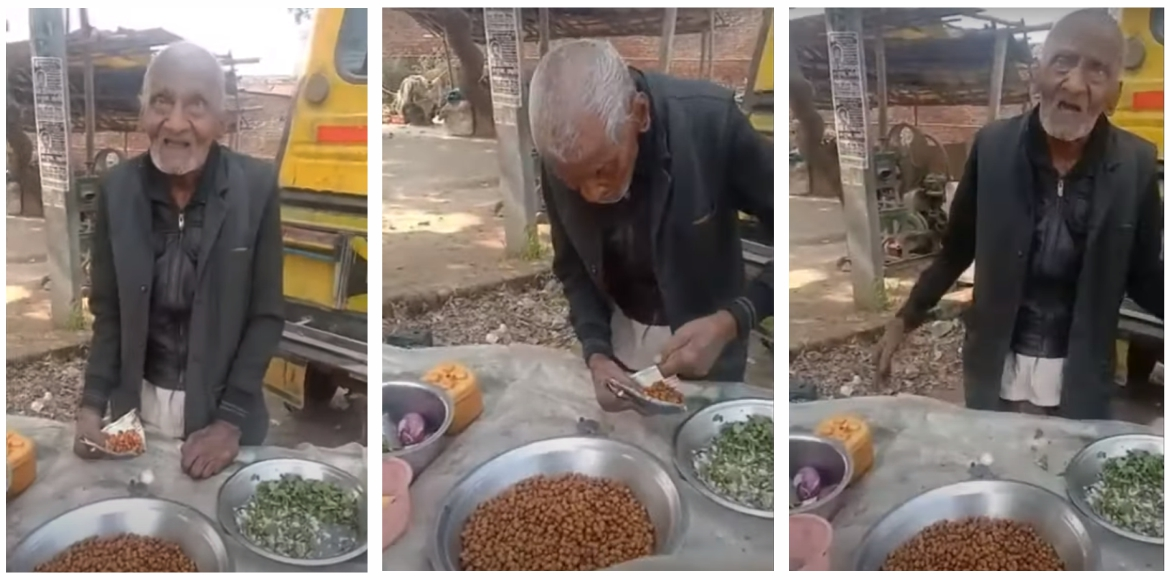 Video of 98-year-old 'Chana' seller goes viral; DM