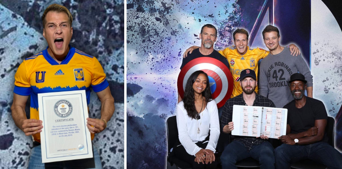 Marvel fan watches 'Avengers: Endgame' 191 times, sets world record