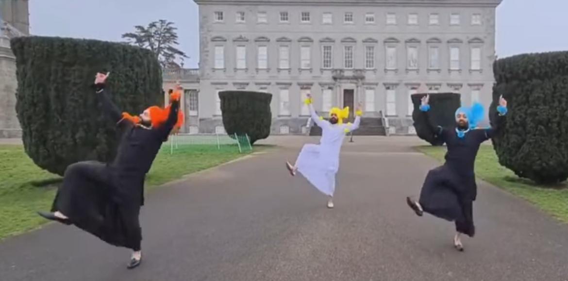 A blend of Bhangra and Irish culture creates buzz
