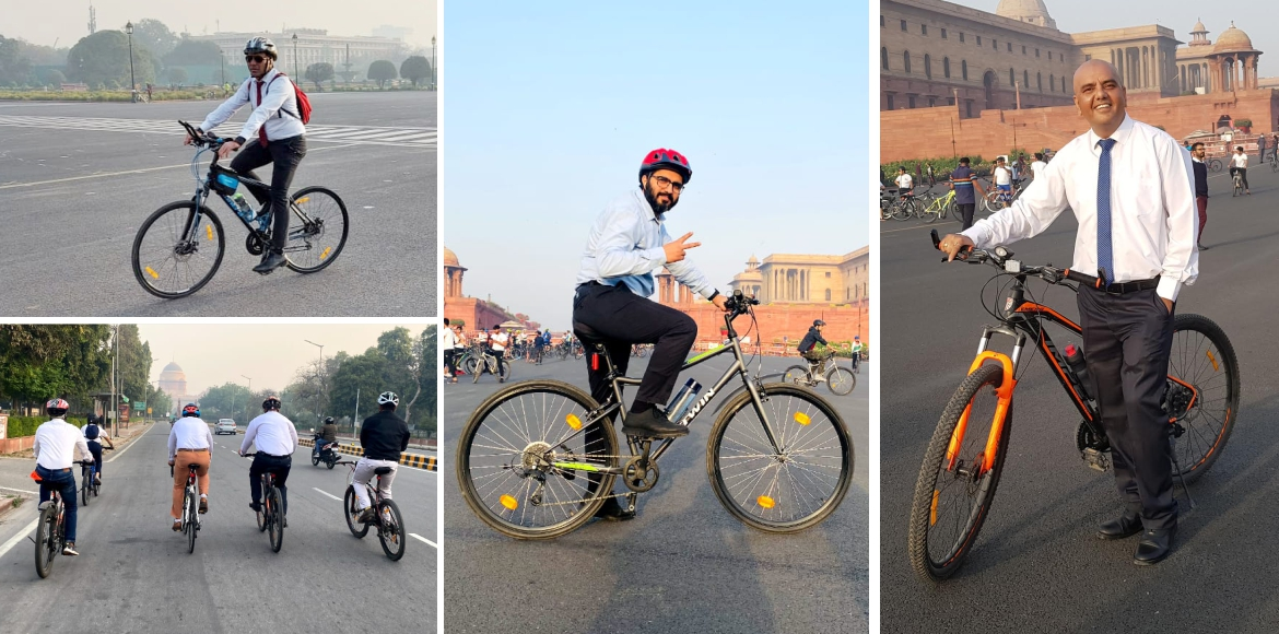 Cycle To Work - A great initiative by Dwarka cycling club