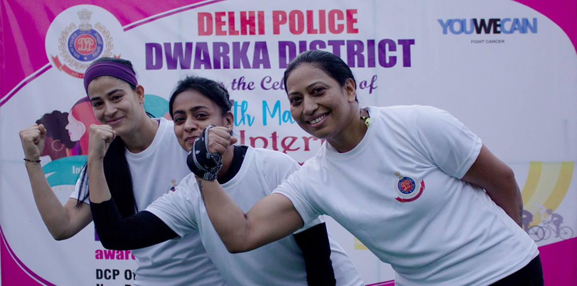 DCP office celebrates International Women's Day in