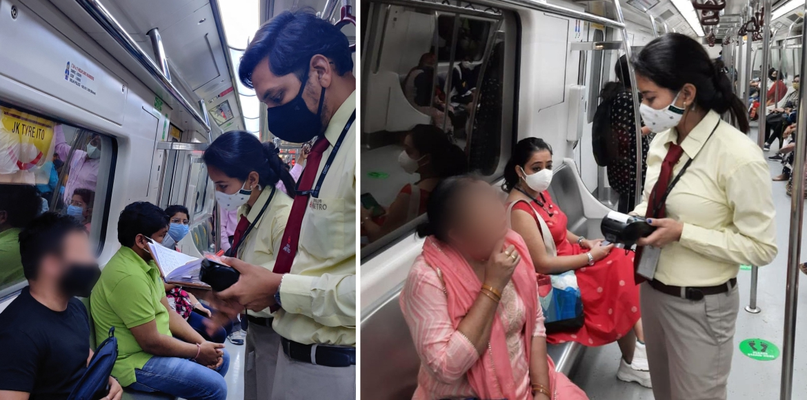 Delhi Metro gets tough on people violating Covid n