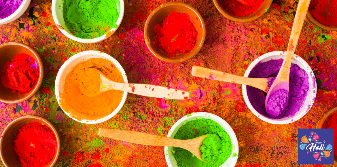 Try homemade colours this Holi