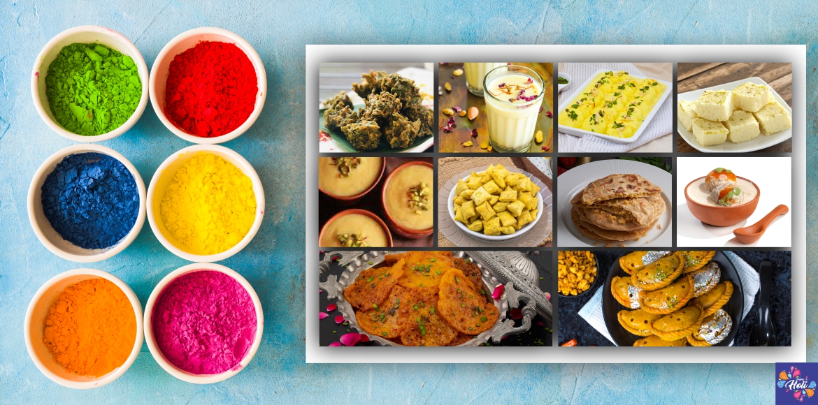 10 delicious food to light up your Holi party!