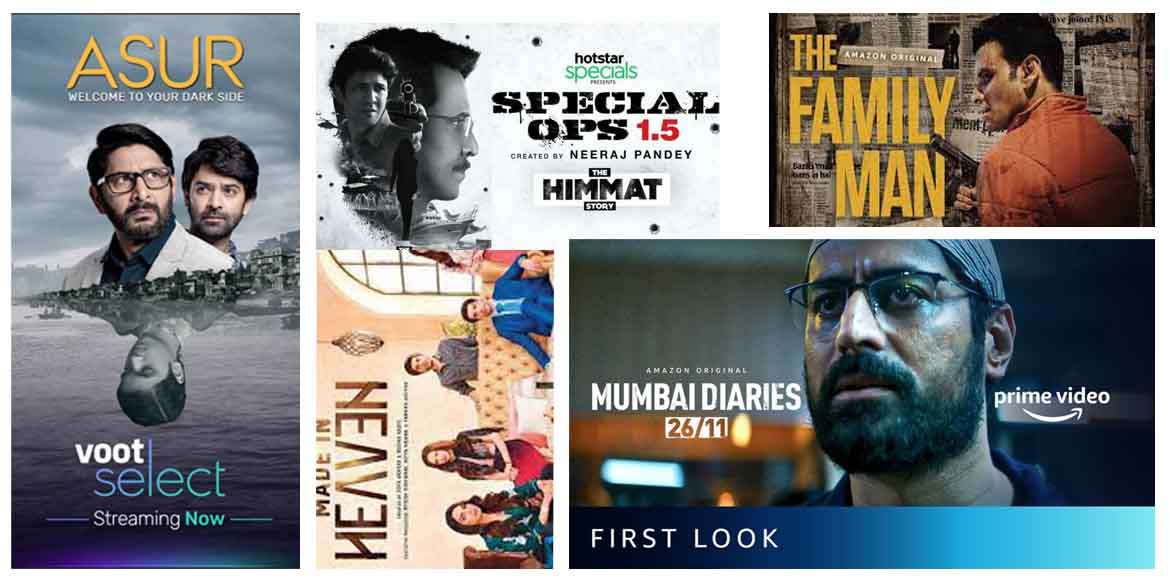 Indian web series to look forward in 2021
