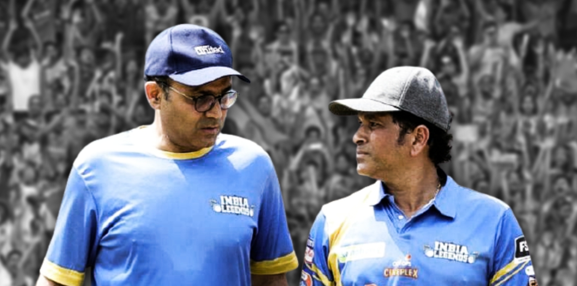 Legends Sehwag, Sachin roll back time for fans in
