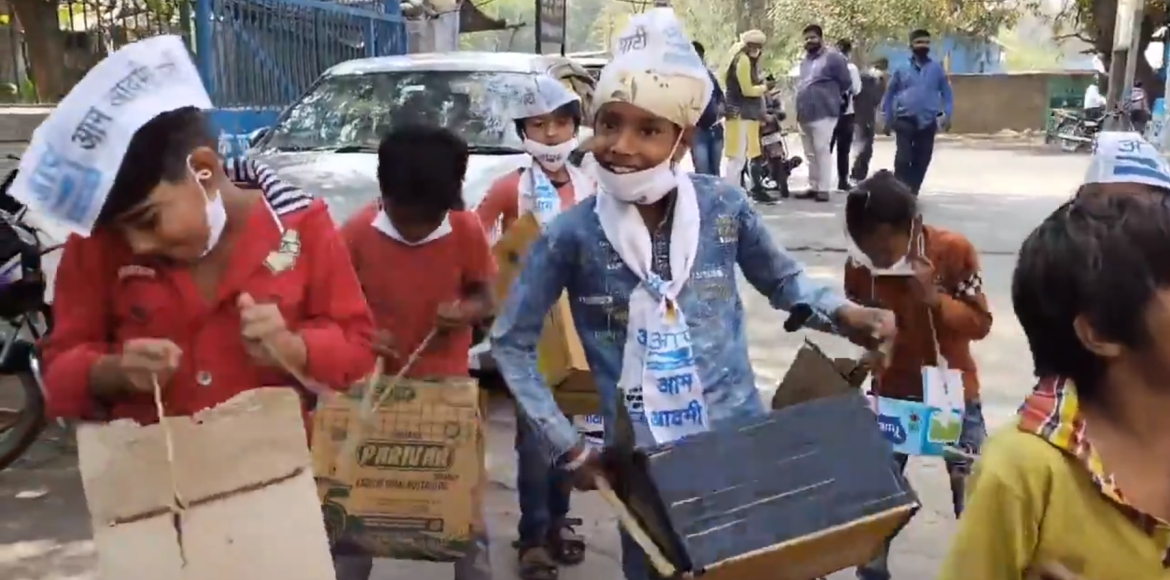 AAP wins 4, Congress 1 in municipal bypolls held at 5 wards
