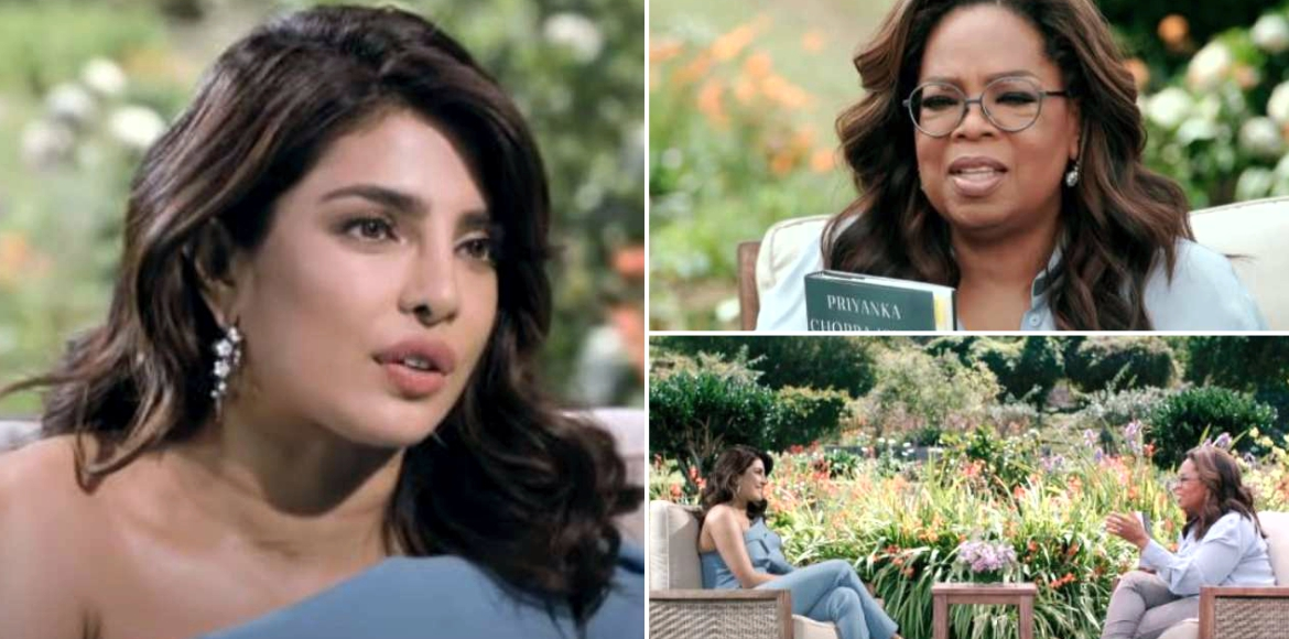 Quotes from Priyanka Chopra's interview to Oprah Winfrey
