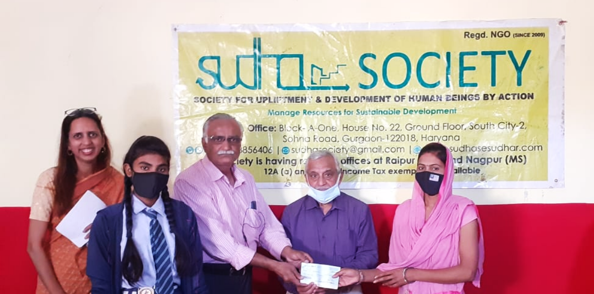 Gurugram: Sudha Society helps needy girls on World Happiness Day