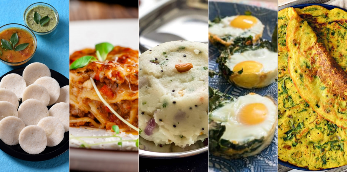 5 easy to make healthy Sunday brunch dishes