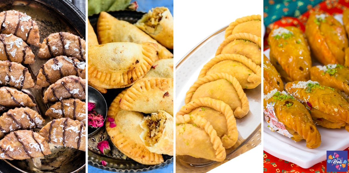 Try out these amazing gujiya flavours this Holi