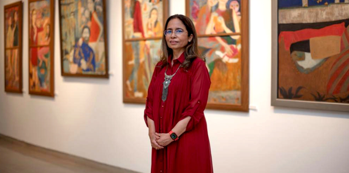 City artist transfers Ghalib's ghazals to her canvas