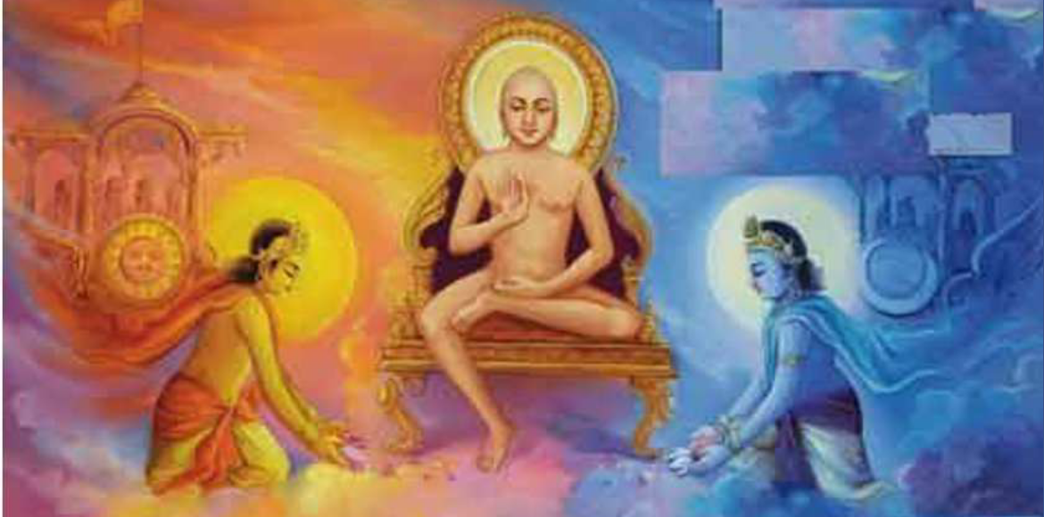 Be your own light, guided Lord Mahavir