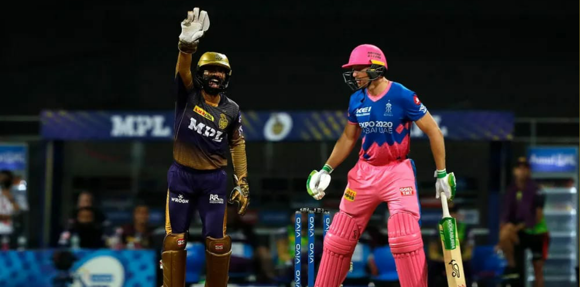 KKR concede fourth consecutive defeat; lose to RR in crucial encounter